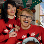 Cheesy Christmas card 2012