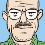 Walter White caricature