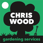 Chris Wood Gardening Services logo